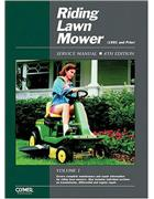 Riding Lawn Mower 1991 and Prior Clymer Owners Service & Repair Manual
