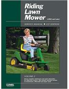 Riding Lawn Mower 1992 & Later (Volume 2) Clymer Owners Service & Repair Manual