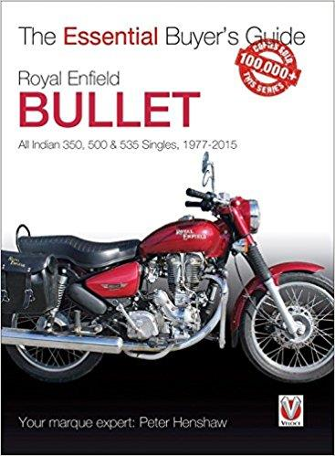 Royal Enfield Bullet 1977 - 2015 : The Essential Buyers Guide - Front Cover