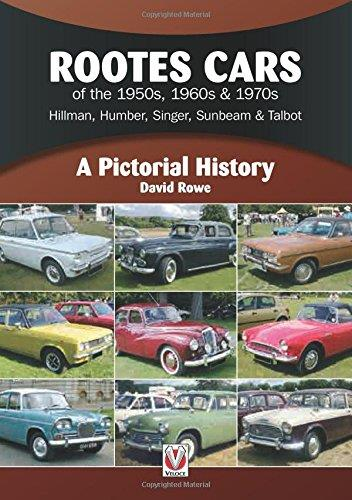Rootes Cars of the 1950s, 1960s & 1970s : A Pictorial History - Front Cover