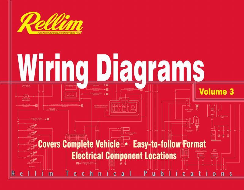 Rellim Wiring Diagrams 1992 - 2004: Volume 3 - Front Cover