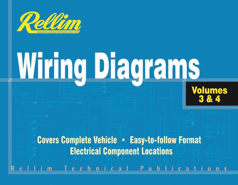 Rellim Wiring Diagrams 1992 - 2006: Volumes 3 & 4 (Combined) - Front Cover