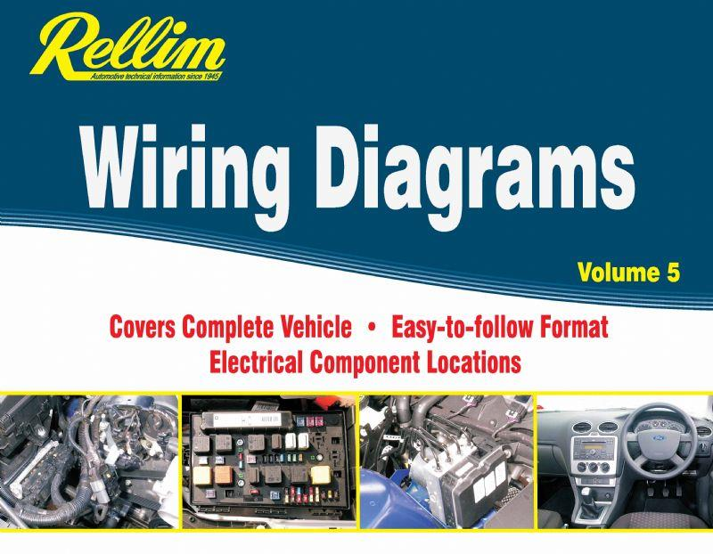 Rellim Wiring Diagrams 1998 - 2006 : Volume 5 - Front Cover