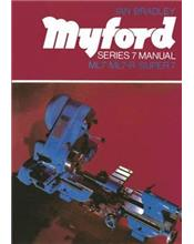 Myford Series 7 Lathe Manual : ML7, ML7-R, Super 7