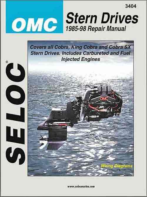 OMC Stern Drive 1986 - 1998 Seloc Owners Marine Service & Repair Manual