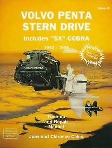 Volvo Penta Stern Drive (Includes SX Cobra Models) 1992 - 1995 Volume 3 - Front Cover