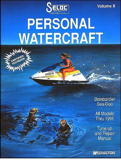 Bombardier Sea Doo 1988 - 1991 Volume 2 - Front Cover