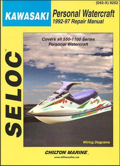 Kawasaki Personal Watercraft 1992 - 1997 - Front Cover