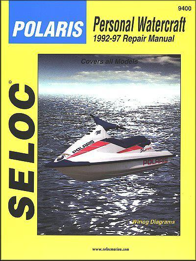 Polaris Personal Watercraft 1992 - 1997
