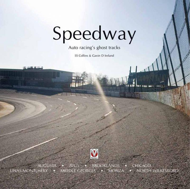 Speedway : Auto Racing's Ghost Tracks - Front Cover