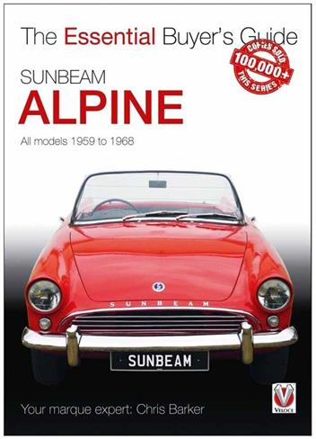 Sunbeam Alpine 1959 - 1968 : The Essential Buyers Guide - Front Cover