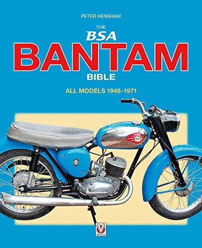 The BSA Bantam 1948 - 1971 Bible - Front Cover