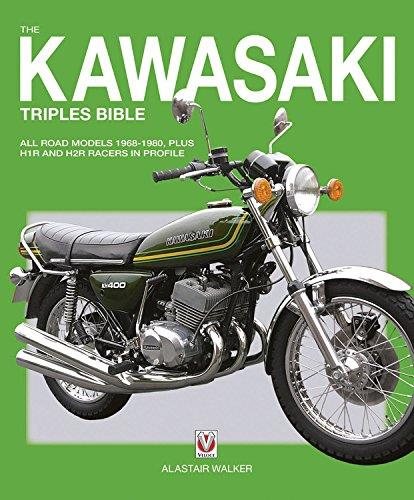 Kawasaki Triples 1968 - 1980 Bible - Front Cover