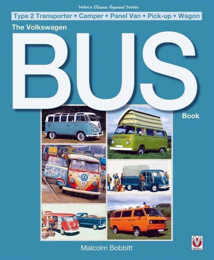 The Volkswagen Bus Book - Front Cover