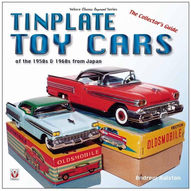 Tinplate Toy Cars of the 1950s & 1960s from Japan - Front Cover