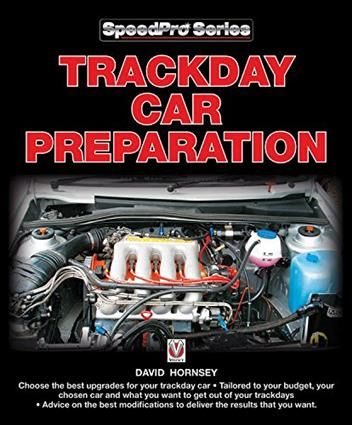 Trackday Car Preparation - Front Cover