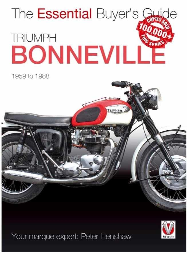Triumph Bonneville 1959 - 1988 : The Essential Buyers Guide - Front Cover
