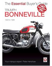 Triumph Bonneville 1959 - 1988 : The Essential Buyers Guide