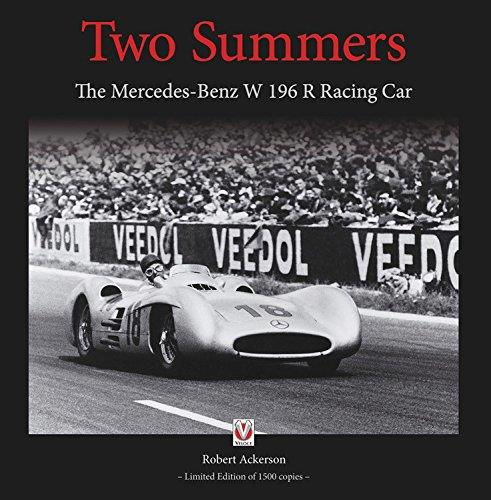Two Summers : The Mercedes-Benz W196R Racing Car - Front Cover