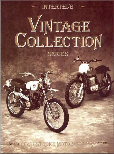 Vintage Collection Two-Stroke Motorcycles : 1960s to Mid 70s - Front Cover