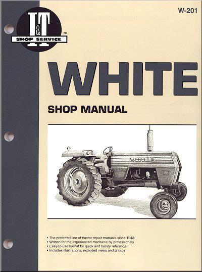 White Petrol & Diesel Tractor Owners Service & Repair Manual - Front Cover