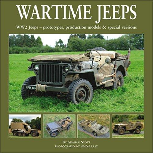 Wartime Jeeps - Front Cover