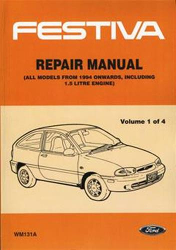 Ford Festiva WB/WD 1993 - 1996 on Factory Repair Manual ...