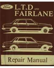Ford Fairlane (ZJ) & LTD (FC) 1979 - 1982 Factory Repair Manual