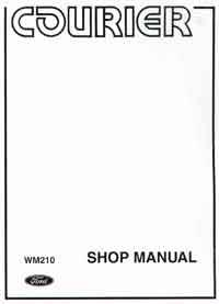 Ford Courier (Petrol) 1974 - 1984 Factory Repair Manual