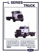 Ford L Series Truck Louisville 1990 on Repair Manual - Front Cover