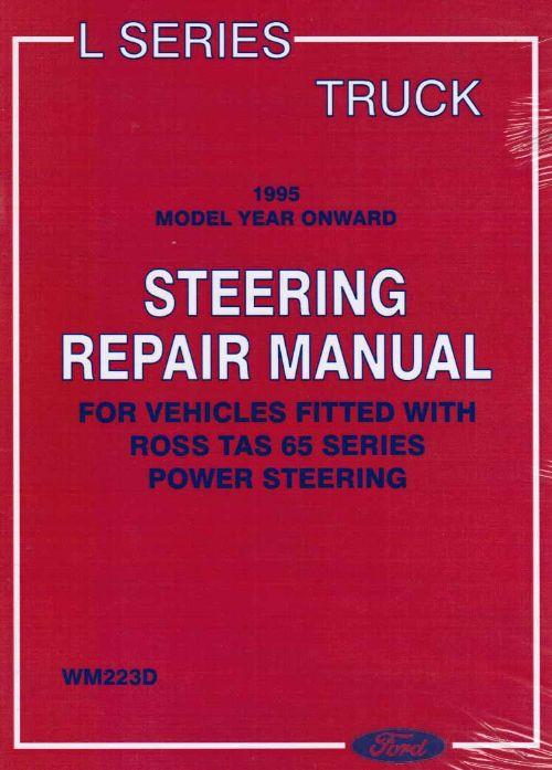 Ford L Series Truck 1995-on Steering Repair Manual - Front Cover