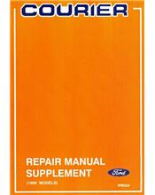 Ford Courier 1990-on Repair Manual Supplement (update changes only)