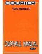 Ford Courier 1996 WL 2.5-litre Factory Engine Overhaul Manual Supplement - Front Cover