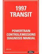 Ford Transit Van 1997 Factory Repair Manual Supplement - Front Cover