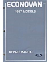 Ford Econovan (JG) 1997 Factory Repair Manual: 3 Volume Set