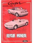 Ford Capri SA30 1989-on Repair Manual - Front Cover