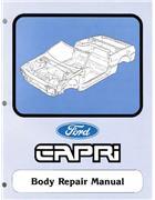 Ford Capri SA30 Body Repair Manual Supplement - Front Cover
