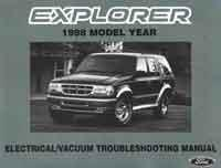Ford Explorer (UQ) 1998 Repair Manual Supplement