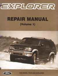 Ford Explorer (UQ) 1998 Repair Manual