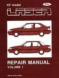Ford Laser KF 1990 Factory Repair Manual : 3 Volume
