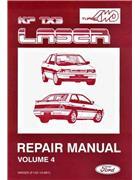 Ford Laser KF 1990 Repair Manual Supplement -