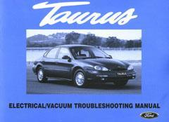 Ford Taurus 1997 Factory Repair Manual Supplement - Front Cover
