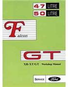 Ford Falcon XR / XT GT Repair Manual Supplement - Front Cover