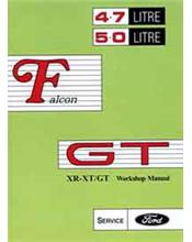 Ford Falcon XR / XT GT Repair Manual Supplement