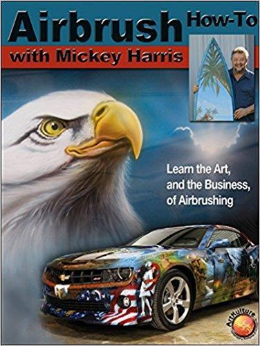 Airbrush : How-to with Mickey Harris Air Skool