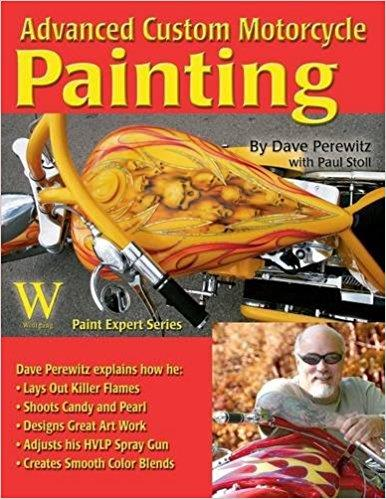 Advanced Custom Motorcycle Painting - Front Cover