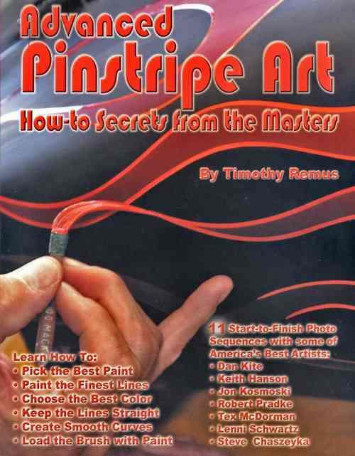 Advanced Pinstripe Art - Front Cover