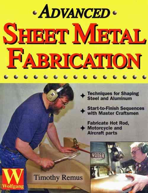 Advanced Sheet Metal Fabrication - Front Cover