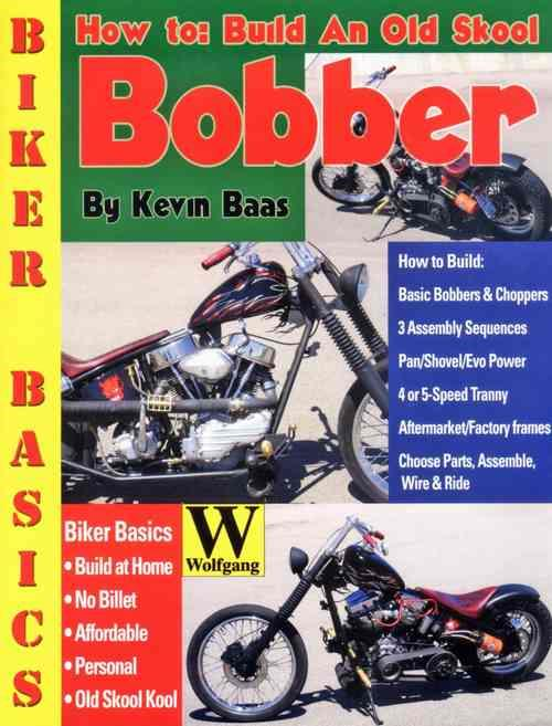 How To Build An Old Skool Bobber - Front Cover