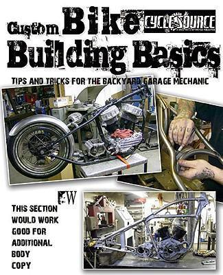 Custom Bike Building Basics - Front Cover